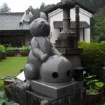 三室戸寺-狛兎